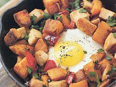 Süßkartoffeln mit Putenbrust