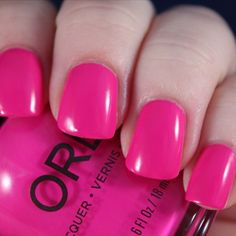 Orly Risky Behavior two coats no topcoat from the new Adrenaline Rush collection. See my live application review of the whole collection up on my channel, link in bio #orly #adrenalinerush #liveapplication