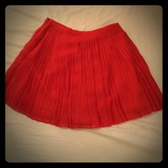 J. Crew Accordion Skirt Gently worn accordion skirt. Perfect for the fall. J. Crew Skirts
