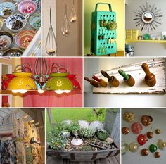 38 Ingenious Ideas to Recycle Old Kitchen Stuff - http://www.amazinginteriordesign.com/38-ingenious-ideas-recycle-old-kitchen-stuff/