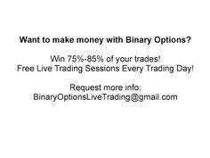 Binary Options Trading - FREE Live Trading Webinars