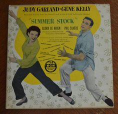 Vintage Judy Garland and Gene Kelly Summer Stock Rare Shellac LP 33 rpm MGM Soundtrack by Retrorrific on Etsy Gene Kelly, Get Happy, Judy Garland, Ms Gs, Greatest Hits, Soundtrack, Musicals, Shellac, Lp