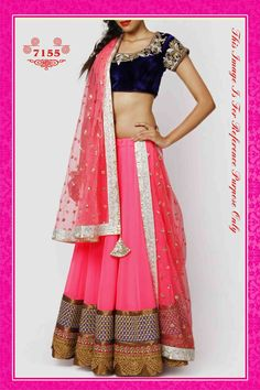 Pink This Lehenga Look : http://gunjfashion.com/ Watsapp : 90998 23943