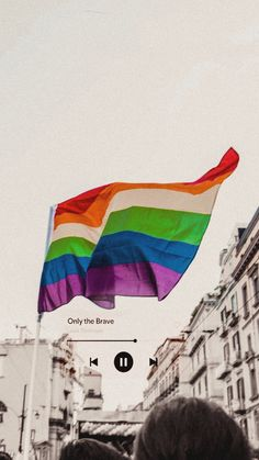 Brave Wallpaper, Cute Wallpaper Backgrounds, Cute Wallpapers, One Direction Wallpaper, Pansexual Pride, Gay Aesthetic, Louis Tomlinsom, Song Lyrics Wallpaper, Rainbow Aesthetic