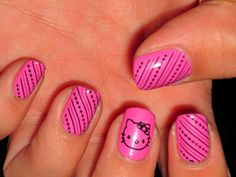 This is great hello kitty design that's not wild but instead girly and cute.