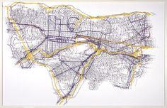 La ciudad de Caracas por Matthew Picton