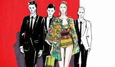 Mélique Street: interview with fashion illustrator for Dolce&Gabbana Spring Summer 2014