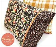 Pillowcase with Closed Overlap Ends: You Asked 4 It   Sew4Home