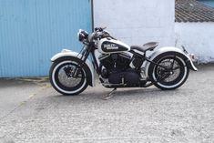 WL style Harley Davidson sportster bobber #harleydavidsonsporster