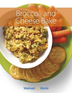 """This dish always brings the family together,"" says Fidencio G., an IMS associate at Store 883, in Raymondville, Texas. We think this Broccoli and Cheese Bake is also perfect game day grub! #recipe #broccoli #cheese"