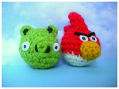 angry bird piggy (o(..)o) - CROCHET