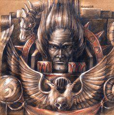 XX Legion - Alpharius by Noldofinve