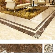 It helps to brighten and beautify your boring or white tiles, offering a new look at your home. Simple to stick it on, change the bald white floor and other bo Home Decor Kitchen, Diy Home Decor, Grand Menage, Scratched Wood, Peel And Stick Tile, Diy Décoration, White Tiles, Decorative Tile, House Cleaning Tips