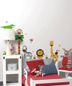 Sweet Safari  Peel and Stick Appliques  - Wall Sticker Outlet