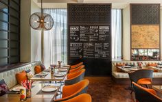 Metro On Wireless - locally inspired design with extensive selection of nostalgic Thai dishes.