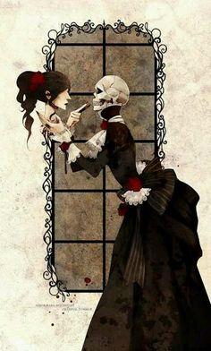 Skull Dark Fantasy Art