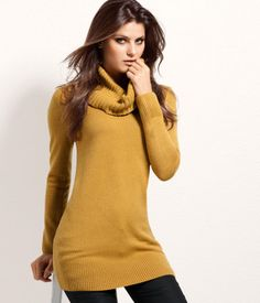 H Cowl-neck Sweater