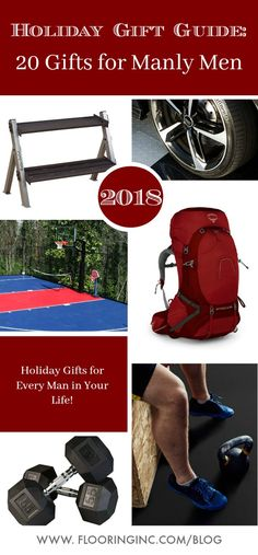 2018 Holiday Gift Guide: The Manly 2018 Holiday Gift Guide: The Manly The Fitness The Garage The Great Outdoors The Tech The Creative Happy Shopping! We have the perfect holiday gift. Holiday Gifts For Men, Holiday Gift Guide, Holiday Ideas, Home Gym Flooring, Flooring Ideas, Cool Gadgets To Buy, At Home Gym, You Are The Father, Gift For Lover