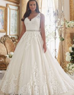 Plus Size Wedding Gowns | Mori Lee | Julietta Collection                                                                                                                                                                                 More