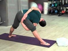 power yoga. intermediate-level. good for those pressed for time. lots of action in 30 minutes. follow it with brian jones' ab sequence (follow link from you-tube video) for an awesome core work-out.