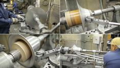 Production Methods: Metal Spinning (to Make a Planter by Brendan Ravenhill) - Metal Projects, Metal Crafts, Lathe Accessories, Metal Shaping, Welding And Fabrication, Metal Forming, Maker Shop, Metal Working Tools, Diy Shops
