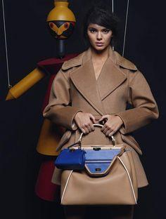 Les plus belles campagnes mode de l'automne hiver 2015 2016 - Kendall Jenner pour Fendi