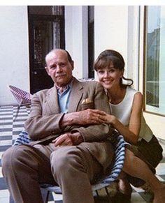 Rare Audrey Hepburn — Top Left: Audrey Hepburn with her father Anthony...