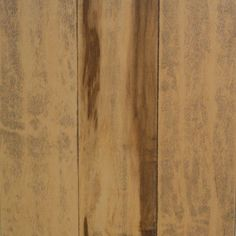 Millstead Handscraped Smoked Maple Natural 3/4 in. Thick x 5 in. Width x Random Length Solid Hardwood Flooring (23 sq. ft. / case)-PF9575 at The Home Depot