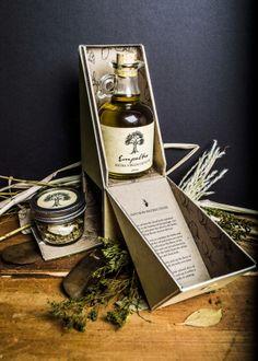 Empeltre Olive Oil Package by Zak Hannah, via Behance