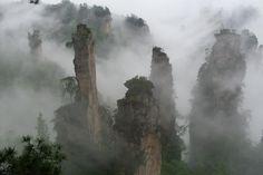 Parc National de Zhangjiajie, Chine