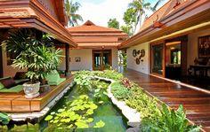 Baan Sarika | Beach front 5 bedroom luxury villa on Shiva Samui Resort