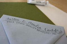 Cute way to address return addresses... If I had the time!