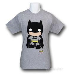 So cute!   Batman Pop Heroes 30 Single T-Shirt