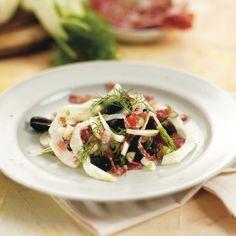 ... fennel salami olive salad insalata di finocchio salame e olive fennel
