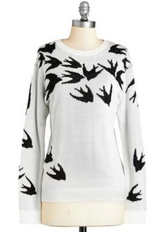 Silhouette Swoop Sweater