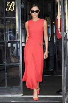 Victoria Beckham leaves her hotel in New York on June 10, 2014.Like us on Facebook?