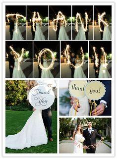 like these thankyou photos