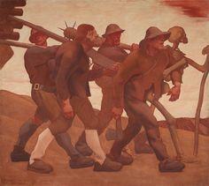 Albin Egger-Lienz - - the Dance of Death Moritz Von Schwind, Jüdisches Museum, Kaiser Franz, Kunsthistorisches Museum, Dance Of Death, Artist Art, Austria, Statue, Canvas