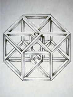 Estudio de hipercubo, 1976