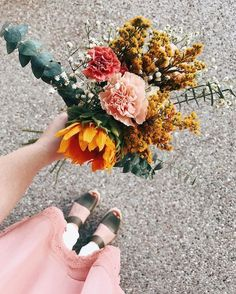 Automnal bouquet | Hesby (@shophesby) boho modern home decor + lifestyle www.shophesby.com