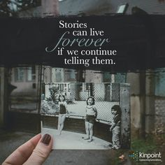 Never stop sharing. Let your memories live on forever. Family History Quotes, Family Quotes, Genealogy, Inspirational Quotes, Cards Against Humanity, Let It Be, Memories, Live, Life Coach Quotes