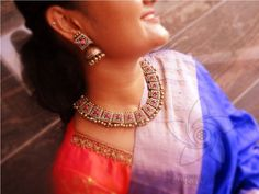 Handmade unique terracotta jewellery for online sale with customizing option. Best quality and perfect finish for a classical art piece of jewellery Terracotta Jewellery Online, Terracotta Jewellery Designs, Antique Jewellery Designs, Jewelry Design, Beaded Necklaces, Beaded Jewelry, Handmade Jewelry, Bead Embroidery Jewelry, Embroidery Art