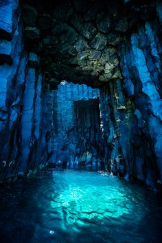 Underwater Cave, pretty natural colours which can be used as a background for the level or part of the level its self