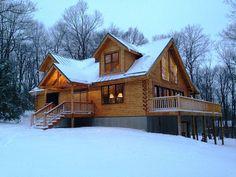 Seven Springs, PA Cabin Rental: Brand New Log Cabin! | HomeAway