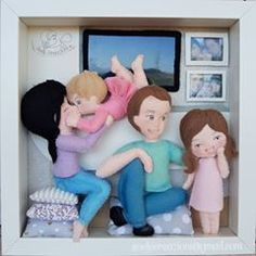 Felt Doll Patterns, Baby Frame, Cute Couple Art, Balloon Flowers, Felt Baby, Sunday School Crafts, Felt Dolls, Family Gifts, Felt Crafts