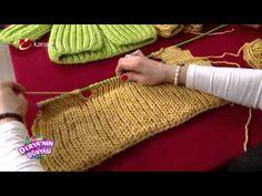 Bebek Hırkası Yapımı - Derya'nın Dünyası - 5 Mart 2015 - YouTube