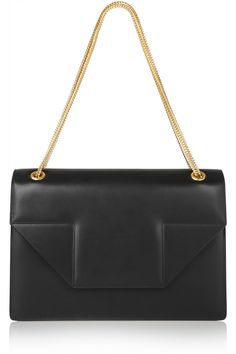 Saint Laurent | Betty Jumbo leather shoulder bag | NET-A-PORTER.COM