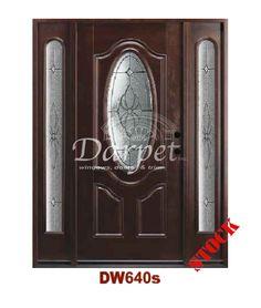 Dark Walnut Exterior Fiberglass Door   Darpet Interior Doors for Chicago Builders ://darpet.com/dark-walnut-exterior-fiber-glass-door-440/   Pinterest ...
