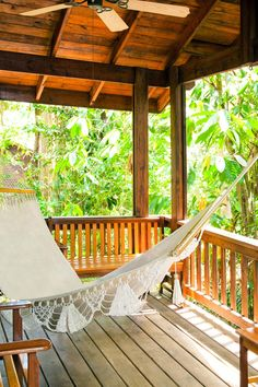 Might just forgo my bed for a hammock in the sun. The Lodge & Spa at Pico Bonito (La Ceiba, Honduras) - Jetsetter