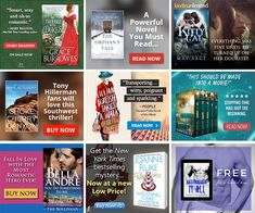 Some great BookBub Ads examples